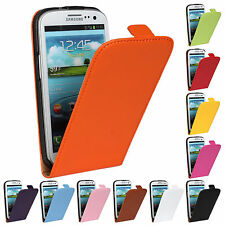 LEATHER  Flip Case Cover Pouch For Samsung Galaxy Model