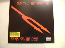 QUEENS OF THE STONE AGE  - SONGS FOR THE DEAF  double  clear vinyl LP