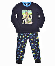 NEW KIDS BOYS GIRLS TOY STORY WOODY BUZZ LIGHTYEAR LONG PYJAMAS PJS JAMMIES