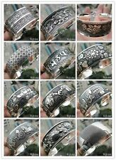 New Tibetan Tibet Silver(mixed metal with silver) Totem Bangle Cuff Bracelet