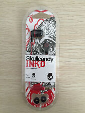 Headphones INK'D IN-EAR Earbuds Earphones With MIC Supreme Skullcandy In Box