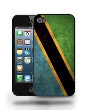 Tanzania National Vintage Flag Case Cover for iPhone 4 4S 5 5C 5S 6 6 Plus