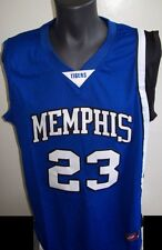#23 Derrick ROSE Memphis TIGERS  Basketball Jersey BLUE S, M, L, XL, 2X, 3X