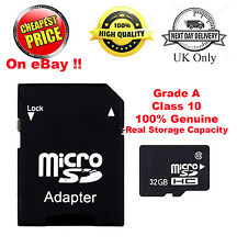 4GB 8GB 16GB 32GB SDHC Class 10 Micro Memory SD Card + Adapter for Media Storage