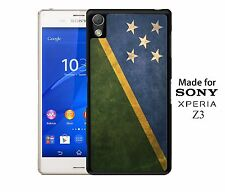Solomon Islands National Vintage Flag Pride Phone Case Cover for Sony Xperia Z3