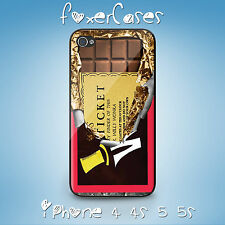 Vintage Wonka Chocolate Bar with Golden Ticket Case for iPhone & Samsung Galaxy