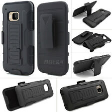 Future Impact Hard Armor Kickstand Holster Belt Clip Combo Case for HTC One M9