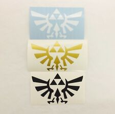 Nintendo Legend of Zelda TRIFORCE Vinyl Sticker Decal, Self Adhesive Vinyl