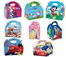 Themed Food Boxes Official Branded Birthday Party Box Genuine Bag Lunch Meal Toy