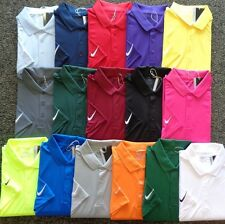 2015 MENS NIKE GOLF Dri-Fit VICTORY SOLID Polyester Polo SHIRT,PICK COLOR & SIZE