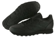 REEBOK CLASSIC LEATHER BLACK BLACK J90119  CLASSIC RUNNING MEN