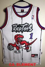 Nike NBA Toronto Raptors Tracy McGrady Hardwood Classic Home Swingman Jersey