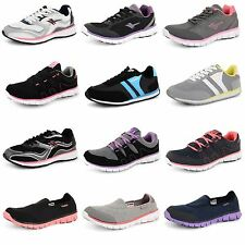 Womens Ladies Gola Casual Lace Up Running Jogging Sports Trainers Mesh Shoes