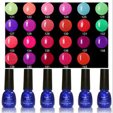 Manicure Art Varnish Lacquer Soak Off UV Gel Polish Nail Glitter Top Base Coat