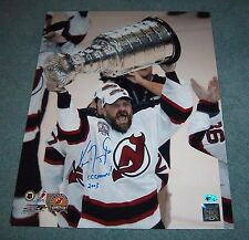 New Jersey Devils Ken Daneyko Signed Autographed 16x20 Photo Stanley Cup