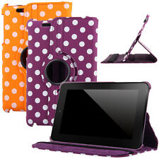 "New 360 Rotating Leather Case Cover Stand for Google Asus Nexus 7"" 2012 Tablet"