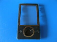 MICROSOFT ZUNE 30GB BLACK/BROWN FRONT CASE COVER FOR REPLACEMENT REPAIR PART