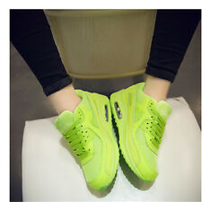 Women Fashion Air Max Lace Up Running Lace up Sport Sneakers Trainer Shoe Size