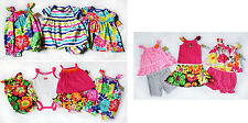 NWT Baby Girls Summer Clothes Lot NEW romper dress short set 3m 6m Carters