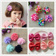 10PCS/lot Girl Baby Boutique flower Hairpin dress Hair Clips Hair Accessories