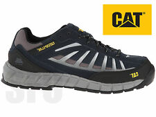 Mens Caterpillar Low Steel Toe Cap Safety Trainers CAT Infrastructure Work Shoes