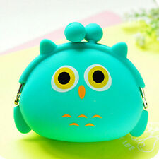Nice Women Kids Girls Cute Cartoon Silicone Coin Purse Storage Bags Wallet Bag
