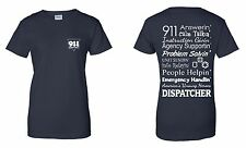 Dispatcher Tshirt. 911 Dispatcher Shirt. Fire EMS Police Dispatcher Shirt