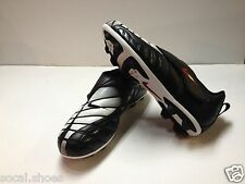Jr Nike Total 7 VT Black White Youth Big Kids Cleats Soccer Football 311068 01