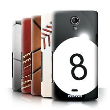 STUFF4 Back Case/Cover/Skin for Sony Xperia T/LT30/Sports Balls
