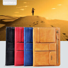 Business REMAX Leather Hand Bag Zipper Cover Organiser Case For iPad 6/iPad Air2