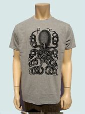 Octopus Funny Mens T-Shirt  Short Sleeve Tee - 100% Cotton, Graphic Tee