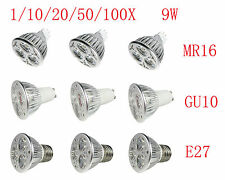 CREE MR16 GU10 E27 E26 Super bright LED bulb 9W Energ 3x3W lamp Home white light