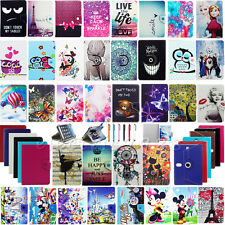 "For RCA 7"" 10"" Tablet Kids Disney Cute Cartoon Universal PU Leather Case Cover"