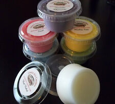 Soy Paraffin Tart Melts Scent Shots Wax 2 oz Cups Candle Fragrance Home Chunk
