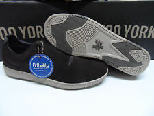 New Zoo York Suede Low Top Skate Mens Shoes