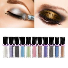 Chic Roller Color Eyeshadow Glitter Loose Powder Pigment Matte Eye Shadow Makeup
