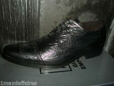 Chaussures GIANNI EMPORIO A1866 Rag Tailles 40 CUIR ITALY Neuve Neuf Pointure