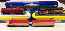 ATHEARN  HO Lot of 3 Locomotives MKT BNSF KCS DCC DC In Box