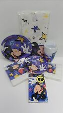 Mickey Mouse Party Supplies Blue Stars Large Small Napkins Cups