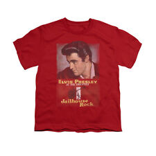 Elvis Presley Jailhouse Rock Poster Youth T-Shirt (Ages 8-12)