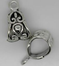 30/40/50 PCS tibet silver ovely Ring type charm jewelry pendant 14x8mm