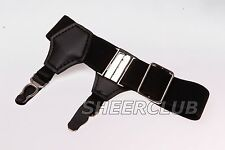 Sexy New Vintage Men's Adjustable Sock Garters Double Grip Gentlemen's