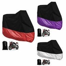 Outdoor Motorcycle Bike Cover Rain Dust UV Protection For Harley-Davidson XL/XXL