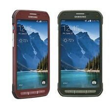 Samsung Galaxy S5 Active G870A AT&T Unlocked 4G Android Phone - 16GB - Red/Green