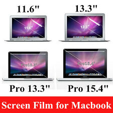 "Crystal Film Guard Screen Protector for Macbook Air 11.6"" Pro Retina 13.3"" 15.4"""