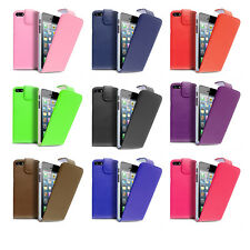 PU Leather Megnatic Book Flip Wallat Phone Case Cover For Apple iPhone 4/4G/4S
