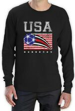USA Womens Soccer Ball | Flag World Championship 2015 Long Sleeve T-Shirt US