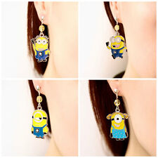 Minions Jewelry Despicable Me Earrings Necklace Lockets Dave Stewart Banana