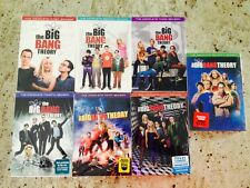 The Big Bang Theory Seasons 1-7 DVD 1,2,3,4,5,6,7 - Brand New * Ships Fast *