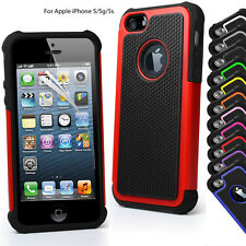 iPhone 5 Case  Apple 5S 5G Phone Case Cover Hard Silicone Shock Proof Defender